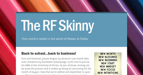 The RF Skinny | Smore Newsletters