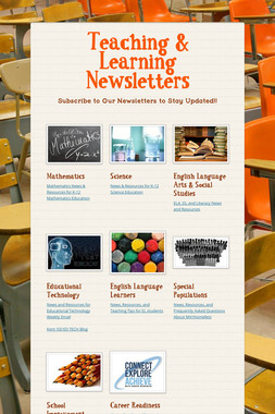 Teaching & Learning Newsletters