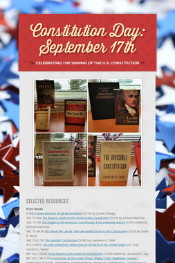 Constitution Day: September 17th