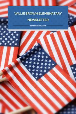 Willie Brown Elemenatary Newsletter