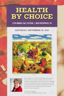 Health By Choice