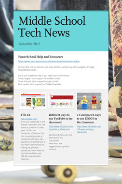 Middle School Tech News