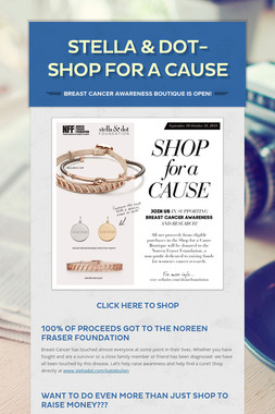 Stella & Dot- Shop For a Cause