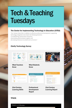 Tech & Teaching Tuesdays