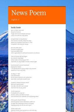 News Poem