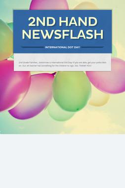 2nd Hand NEWSFLASH