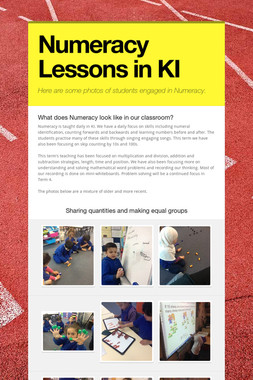 Numeracy Lessons in KI