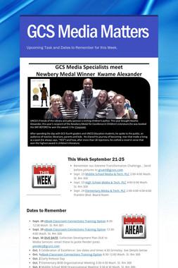 GCS Media Matters