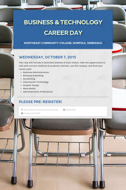 Business & Technology Career Day