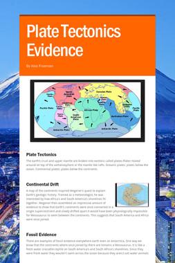 Plate Tectonics Evidence