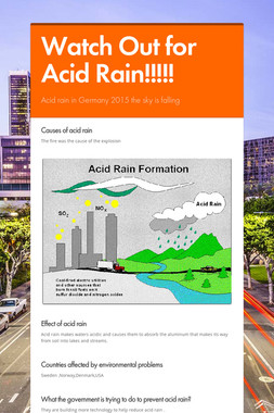 Watch Out for Acid Rain!!!!!