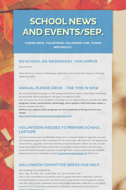 School News and Events/Sep.