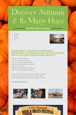 Discover Autumn & Its Many Hues