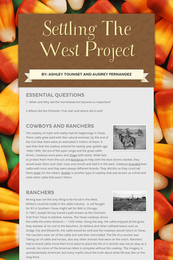 Settling The West Project