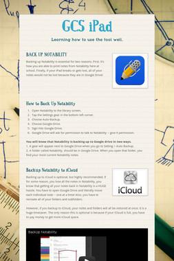 GCS iPad