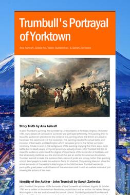 Trumbull's Portrayal of Yorktown