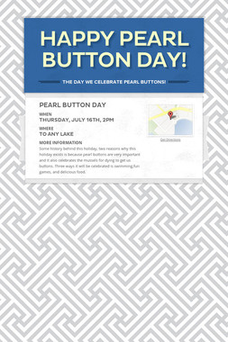 Happy Pearl Button Day!