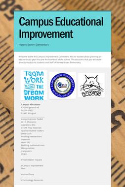 Campus Educational Improvement