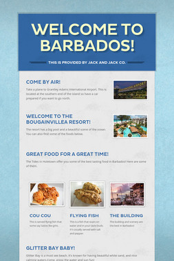 Welcome to Barbados!