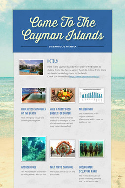 Come To The Cayman Islands