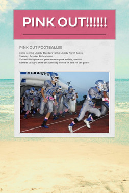 Pink OUT!!!!!!
