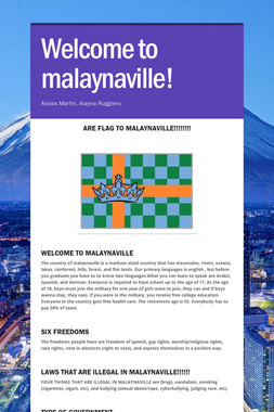 Welcome to malaynaville!