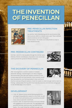 The invention of Penecillan
