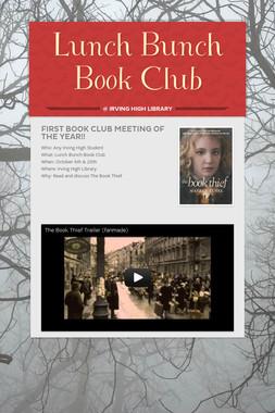 Lunch Bunch Book Club