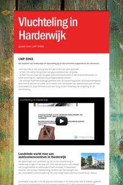 Vluchteling in Harderwijk