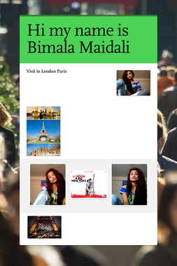 Hi my name is Bimala Maidali