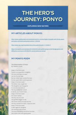 The Hero's Journey: Ponyo