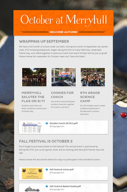 October at Merryhill
