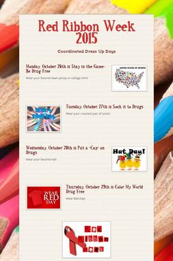 Red Ribbon Week 2015
