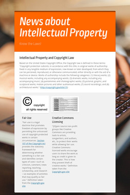 News about Intellectual Property
