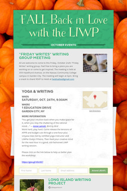 FALL Back in Love with the LIWP