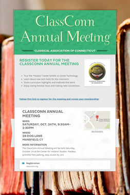 ClassConn Annual Meeting