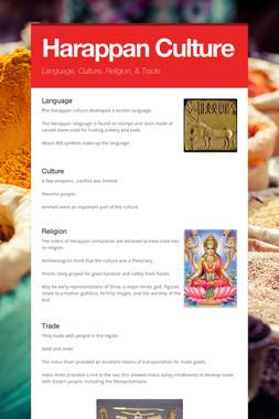 Harappan Culture