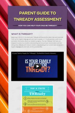 Parent Guide to TNReady Assessment