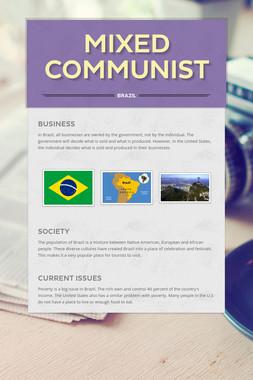 Mixed Communist