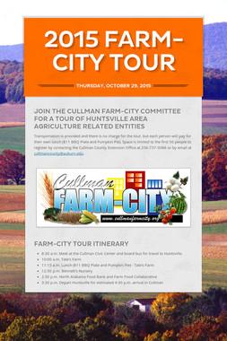 2015 FARM-CITY TOUR