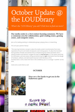 October Update @ the LOUDbrary