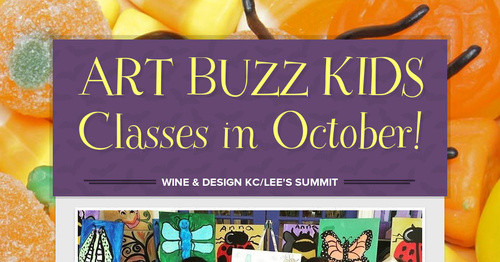 Art Buzz Kids Classes In October Smore Newsletters