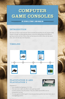 Computer Game Consoles