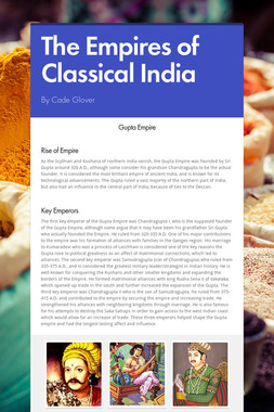 The Empires of Classical India