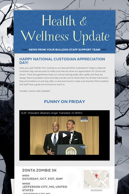 Health & Wellness Update