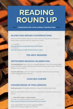Reading Round Up