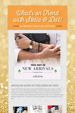 What's on Trend with Stella & Dot!