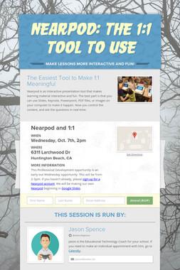 Nearpod: The 1:1 Tool To Use