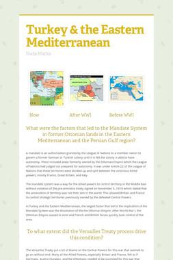 Turkey & the Eastern Mediterranean