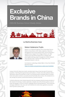 Exclusive Brands in China